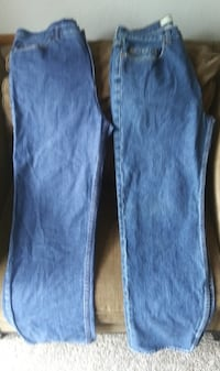 Two Pair of Men's Jeans