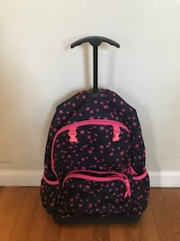 Rolling pink and navy Gap kids star backpack Danbury, 06811