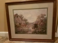 AMISH FRAMED PICTURE Ringgold, 30736