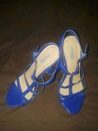Royal blue heels Walker, 70785