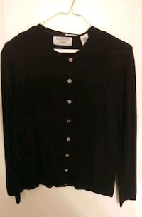 Lord And Taylor 2 Piece Sweater Set/Black/Size PM/New Germantown, 20874