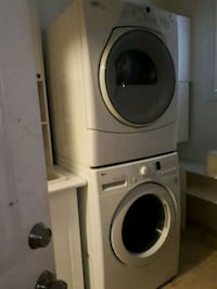 Stackable washer and dryer. Whitby, L1M 2E1