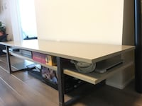 IKEA coffee table (grey and brown)