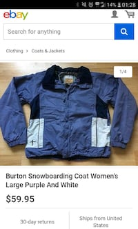 Lots of coats Colombia and Burton also some northfsce clothes and Oak