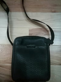 black leather sling bag COACH Vancouver, V5L 1W7