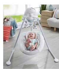 Baby swing fisher price  Mississauga, L4Y 3N6