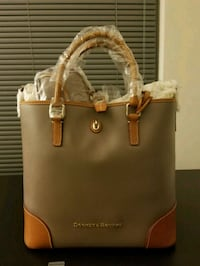 women's brown Michael Kors leather tote bag Bethesda, 20814