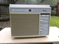 white and grey Amana window-type AC unit Anderson, 96007