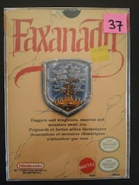 Faxanadu for NES with original box & manual  Vaughan, L4L