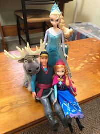 Disney Frozen Doll Playset Montgomery Village, 20886