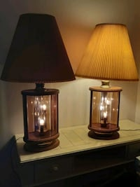 Set of Two Gorgeous Lamps