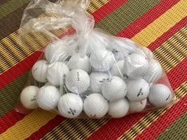 Three dozen preowned Precept golf balls