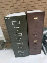 black metal 4-drawer filing cabinet Ottawa, K1H 7Z4
