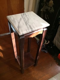 Furniture with marble top antique (ht 3ft, wt 1ft) Piscataway, 08854