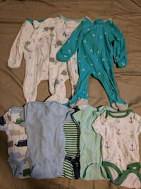 baby's assorted clothes boy NB Falls Church, 22044