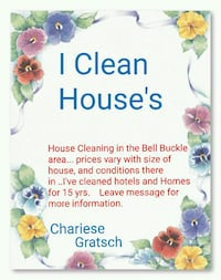 Love to clean Bell Buckle, 37020