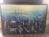 Canvas picture - downtown Toronto
