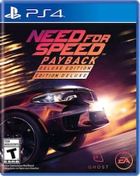 PS4 NEED FOR SPEED PAYBACK + DELUXE EDİTİON (NFS) İstanbul