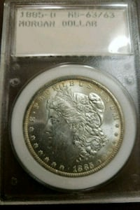 1885 Morgan Silver Dollar/ willing to take trades  Chantilly, 20151