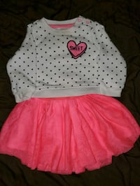 12 months valentine's day outfit