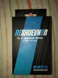 Reshoevn8r shoe cleaning wipes