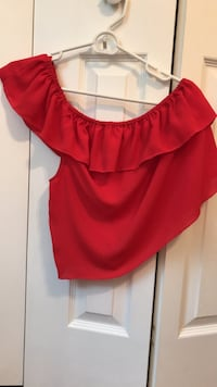one strap red shirt from Top Shop (small) Fairfax, 22032