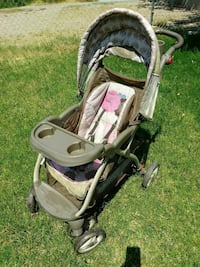baby's gray and brown stroller North Las Vegas, 89032