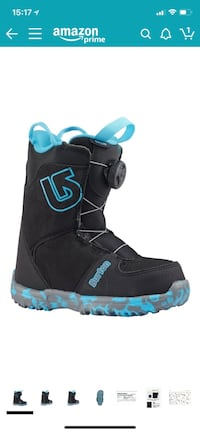 Size 2 girls snow boots  Woodbridge, 22191