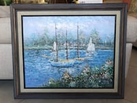 Sailboat Oil Painting  Fort Lauderdale, 33312