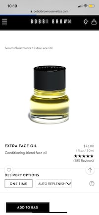 Bobbi Brown Extra Face Oil Toronto, M6P 2L4