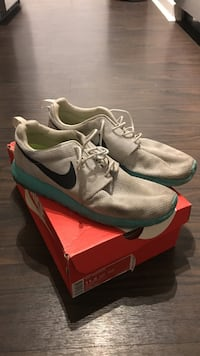 Pure Platinum Roshe Run sz 11.5 41 km