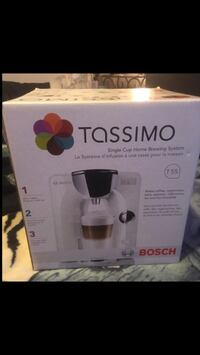 Tassimo Bosch T55 Single Cup Brewing System. Never out of box! Dartmouth, B2X 1H7