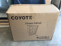 Coyote 3 Drawer SS Cabinet - BBQ/GRILL/Outside Los Alamitos, 90720