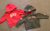 Baby Gap Hoodie Size 3-6 months HBC Canada Hoodie Size 0-6 months $10 for both Toronto, M9C 4W1