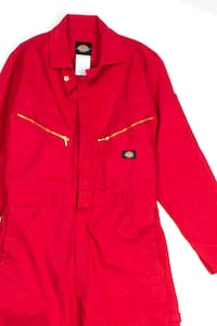 NEW: Dickies red Deluxe Blended Coveralls Size XL Regular Fit.