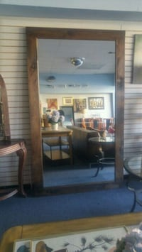 Floor leaning mirror 7 ft 3 inches
