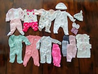 Premie baby girl clothes