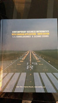 Contemporary Business Mathematics (9th Edition)