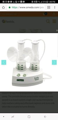 *NEW* Ameda purely yours breast pump 29 km