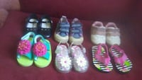toddler's four pairs of shoes Moncton, E1A 3S5