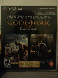 God of War Collection PS3  New Tecumseth, L0G 1A0