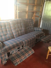 Comfortable reclining couch (only left and right as shown on picture) no stains or weird smells. Pick up only, kinda heavy. OBO Winter Park, 32792