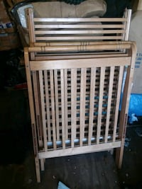 Baby crib comes with mattress