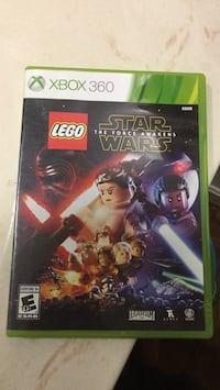Xbox 360 Star Wars the force awakens lego video game Springfield, 22152