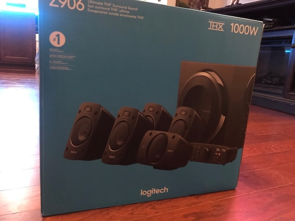 Brand New Logitech Speakeds