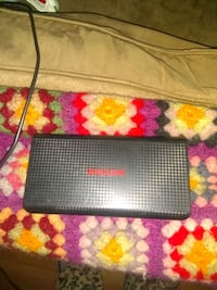 black and red portable charger. Obo Tulsa, 74126