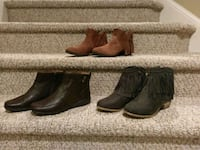 $25 Each New Booties Women's Sizes 7 and 7.5 Woodbridge, 22193