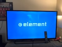 Black flat screen tv with remote Richmond, 94804