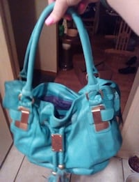 Turquoise leather purse Springfield, 65803