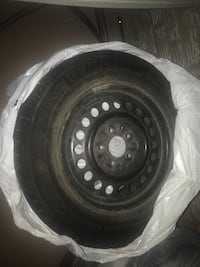 "Honda Civic winter wheels & tires 15"" Toronto, M1T 3J4"